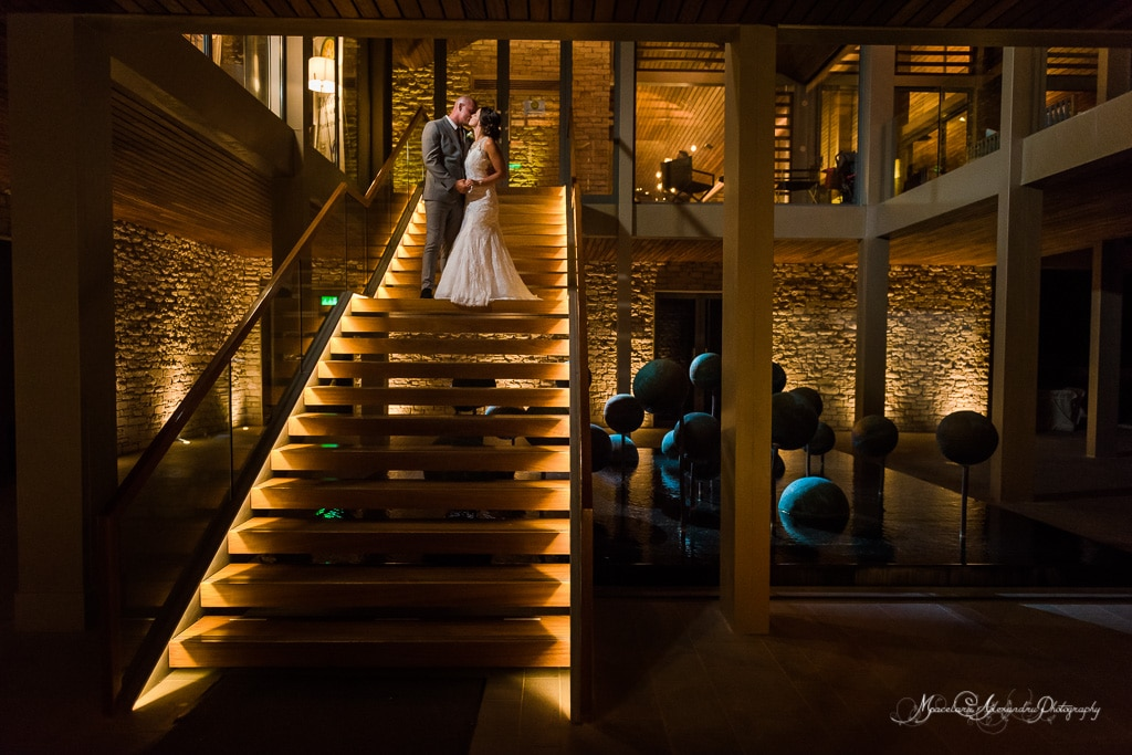 Beautiful wedding photo at Minthis Hills