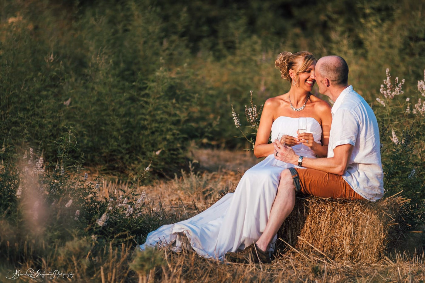 Greate couple in nature, wedding photographer Paphos