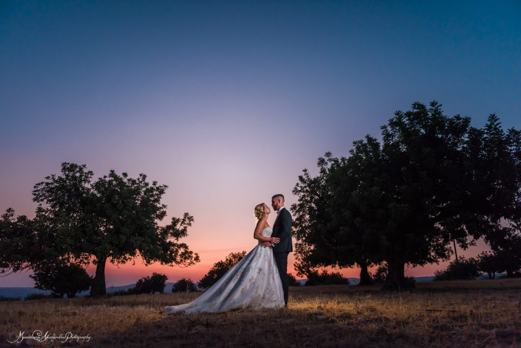 Amazing blue hour photo by Alexandru Macelaru Wedding photos Cyprus
