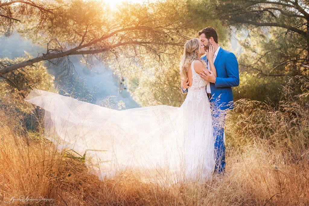 Wedding photographer Limassol, wedding photo taken in the mountains with an amazing couple.