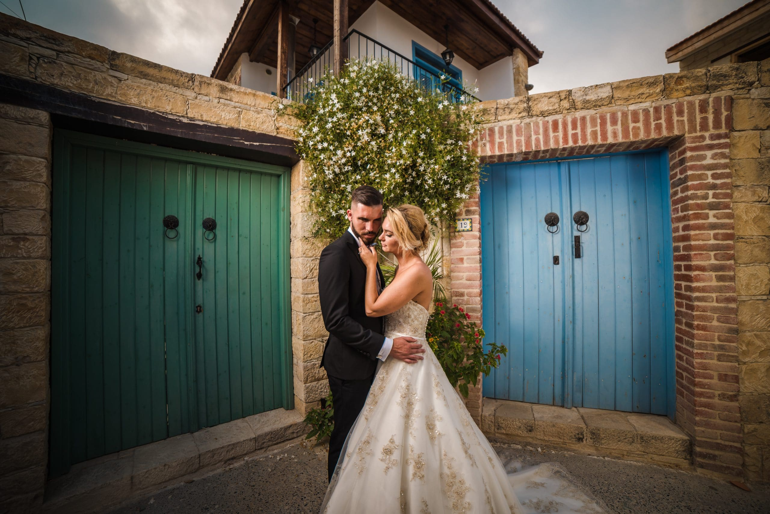 Wedding photography in Omodos