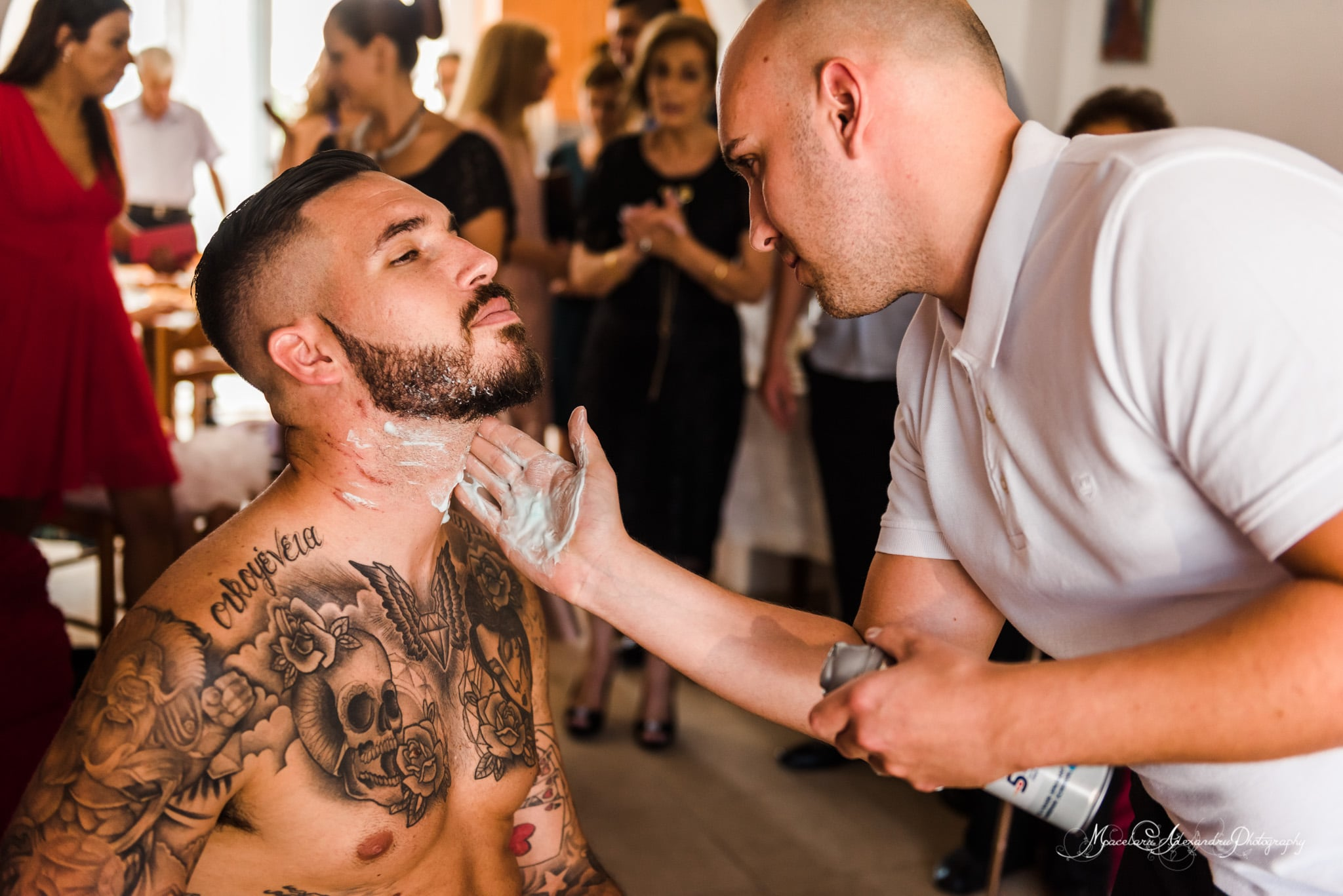 Wedding photography in Paphos - Groom getting ready