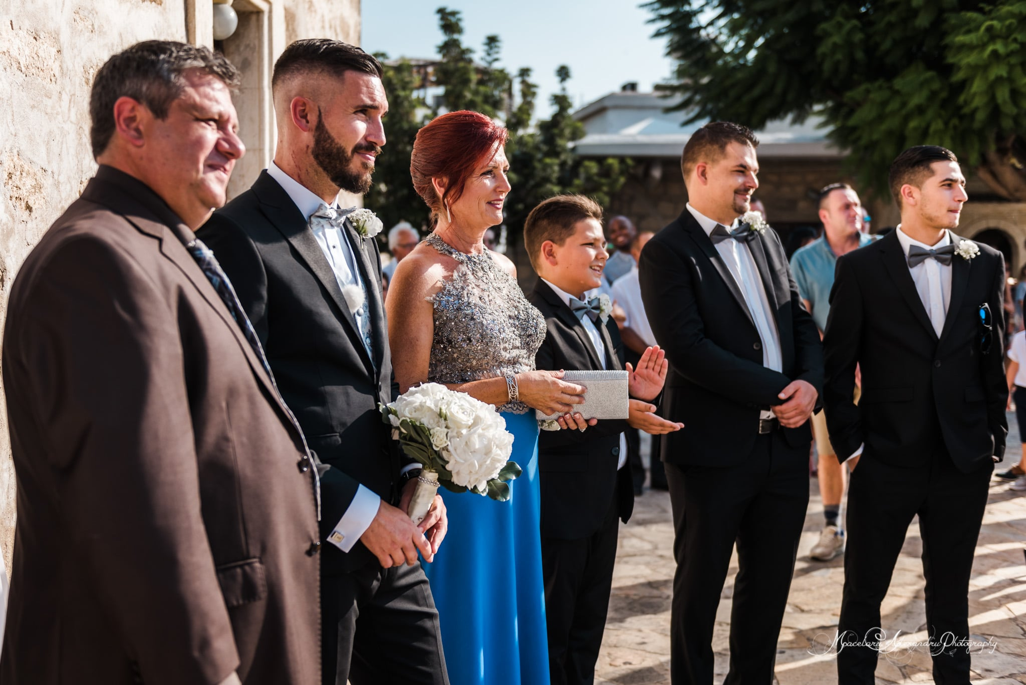 Wedding photography in Paphos - The church