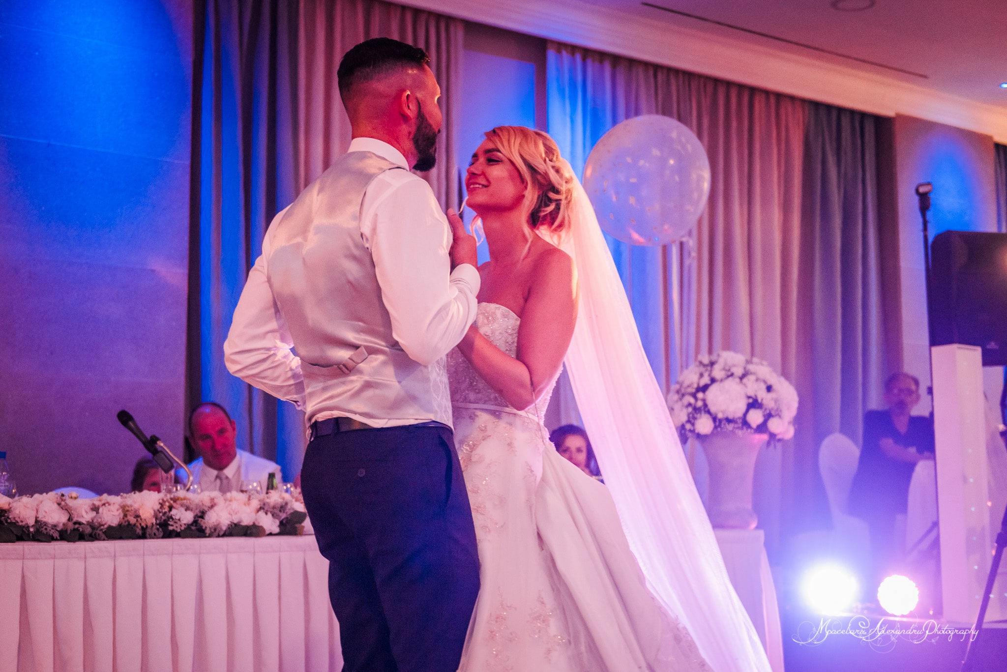 Wedding photography in Paphos - Bride and Groom first dance