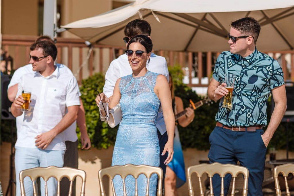 Guests arriving at the venue - Wedding photographer Cyprus