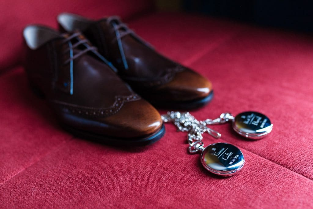 Groom shoes - Wedding photographer Elea Estate Paphos