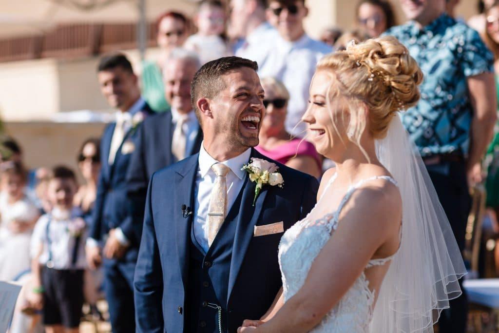 Groom happy - wedding photos
