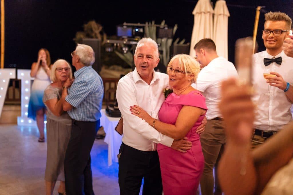 Guests Dancing- Wedding photography Cyprus